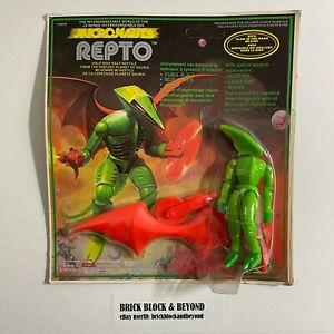 1979 MEGO Micronauts 71023 Repto with Glow Brains MOC Sealed