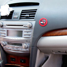 Car Auto Pickup Interior No Smoking Logo 3M Warning Natural Latex Sticker Emblem