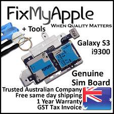 Samsung Galaxy S3 i9300 OEM Sim Micro SD Card Reader Board Tray Pins Replacement