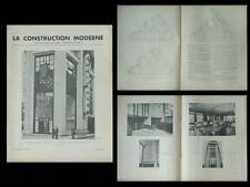 LA CONSTRUCTION MODERNE - n°40 - 1936 - PARIS-SOIR, FRONTON RECOLETOS, MADRID
