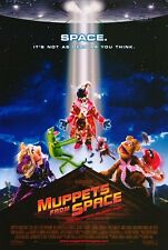 "Original ADVANCE D/S MUPPETS FROM SPACE 48""X70"" Bus Shelter JIM HENSON FRANK OZ"