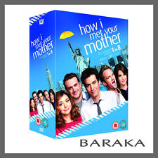 HOW I MET YOUR MOTHER COMPLETE SEASON 1, 2, 3, 4, 5, 6, 7 & 8 DVD BOX SET 1 - 8