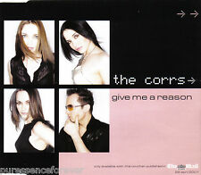 THE CORRS - Give Me A Reason (UK Mail On Sunday 3 Tk Promotional CD Single)