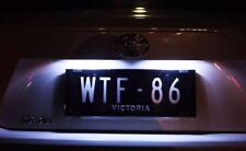 Subaru Toyota 86 White LED License Number Plate Lights FT86 Scion FR-S FRS BRZ