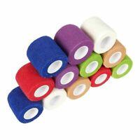 "12x Vet Wrap Tape Self Adhesive Bandages Gauze Rolls For Pets Horse 2"" x 66.9"""