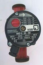 Circulateur KSB 25-50 / 180 230Vac 3 vitesses