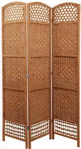 Paravent Weide natur 170x120 - Raumteiler Raumtrenner Spanische Wand Trennwand