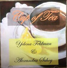 Cup of Tea*CD* Songs in Russian & Instrumental Compositions * Y.Feldman, A.Suhoy