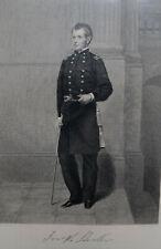 Civil War General Joseph Hooker 1863 Engraving