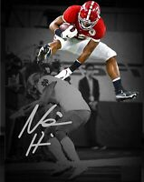 Najee Harris Autographed Signed 8x10 Photo ( Alabama Crimson Tide ) REPRINT