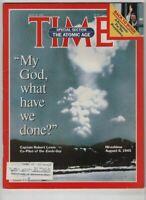 Time Magazine Captain Robert Lewis Hiroshima July 29, 1985 060920nonr