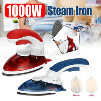 1000W MINI Portable Handheld Electric Iron Garment Travel Steam Steamer for Home
