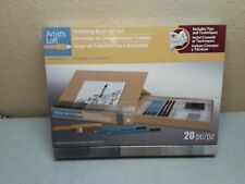 Artist's Loft Sketching Easel Art Set, new in box, 20 pieces,