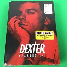 Dexter: Seasons 1-4 DVD 16-Disc Box Set. W