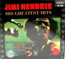 Jimi Hendrix Greatest hits CD, NEW! FREE SHIP, Purple Haze,Fire,Voodo Child
