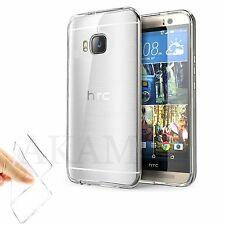 Soft TPU Silicon Crystal Clear Gel Flexible Back Skin Case Cover For HTC One M9