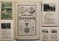 Original Prospekt Deutsches Ostseebad Zinnowitz 1903 Ortskunde Reise sf