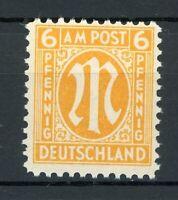 Bizone AM Post MiNr. 20 A x a mit Falz Befund Hettler (O652