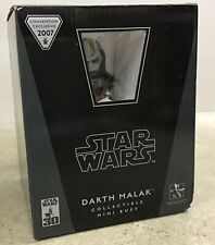 Gentle Giant Star Wars Darth Malak Mini Bust Statue Limited to 2000 t779499597