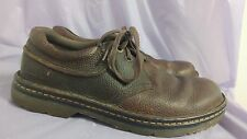 DR MARTENS Men's Hampshire Brown Pebbled Leather Oxfords Size 8 UK / 9 US