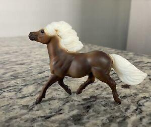 Breyer Just About Horses Stablemate Gift Set Silver Dapple Shetland Pony