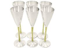 Vintage Stuart Devlin Flûtes à champagne argent sterling Set de six 1978