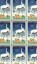 1957 - WHOOPING CRANES - #1098 Full Mint -MNH- Sheet of 50 Postage Stamps