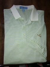 Men's Fairway & Greene Short Sleeve Pureformance Polo Shirt - Rolex - Large