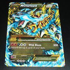 MEGA M Charizard EX 108/106 FlashFire Secret Rare NEAR MINT Pokemon Card
