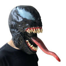 2018 Halloween Cosplay Venom Mask Latex Costume Prop Scary Mask Toy