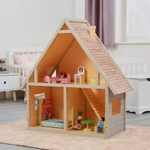Doll house Chalet Children's Bedroom Bookcase