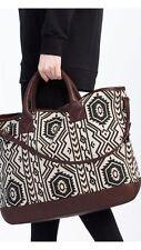 LAST ONE_WT ZARA Large Printed Leather Tote Bag Ref:4655/104
