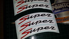 Vespa GTS Super Sport Rim tape Wheel stickers EXCLUSIVE DESIGN 3 125 200 250 300