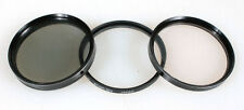 55MM FILTERS, SET OF 3 (POLERIZER, STAR-6   1A)