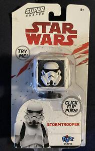 Star Wars Storm Trooper Disney Fidget CubeClick Flip Push Fijix Super Shapes