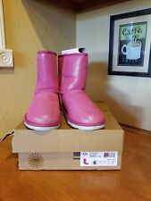 Ugg Pink Glitter Boots Size 6
