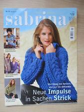 Sabrina Strickheft Januar 2010