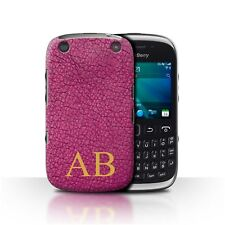 Personalized Custom Leather Effect Phone Case for Blackberry Curve 9320/Cover