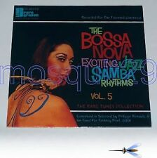 BOSSA NOVA EXCITING JAZZ SAMBA 5 LP SEALED- MOOD MOSAIC