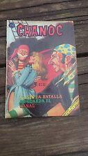 """VTG 1969 MEXICAN COMIC CHANOC # 526 """"LA BATALLA DE GUARDA EL CANAL"""" ED.HERRERIAS"""