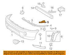 TOYOTA OEM 05-11 Tacoma Front Bumper-Bumper Bracket Left 5327404020