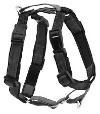 PetSafe 3 In 1 Harness No-Pull Walking Solution, Small, Black