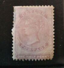 Ceylon 1864 QV 1/2d dull mauve Mint