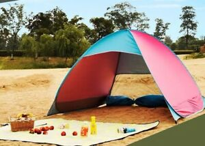 Portable Tent Camping Fishing Beach Waterproof Folding Pop up Sun Shade Cover