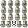16x Ford Focus Replacement Alloy Wheel Nuts, M12 x 1.5, 19mm Hex OE Style (Zinc)