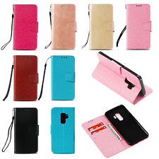 For Samsung S10+/E/Note 9/S9/S8/S7 Leather Flip Magnetic Wallet Stand Case Cover