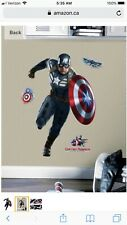 Captain America Wall Decal Stickers- Marvel Avengers