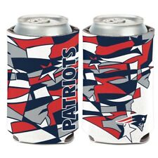 New England Patriots Wincraft Nfl Xfit 12oz Can Coolie Free Ship