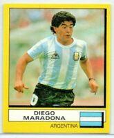 Panini Football 1988 Cut Outs Sticker DIEGO MARADONA Vintage Investment Sticker