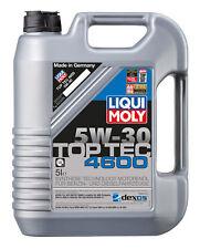5l LIQUI Moly Top Tec 4600 5w-30 Motoröl MOTORPROTECT Öl-additiv